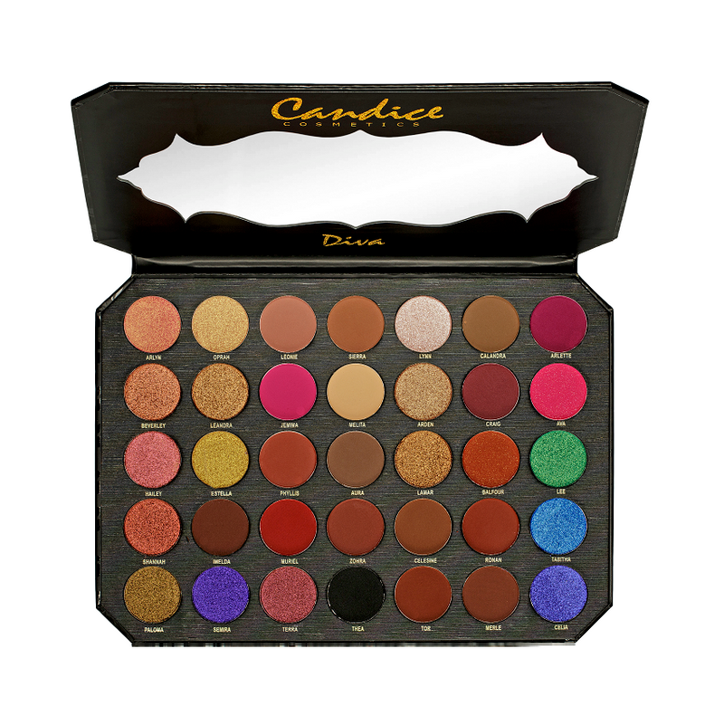 Be Diva - PRO 35 Colors Eyeshadow Palette