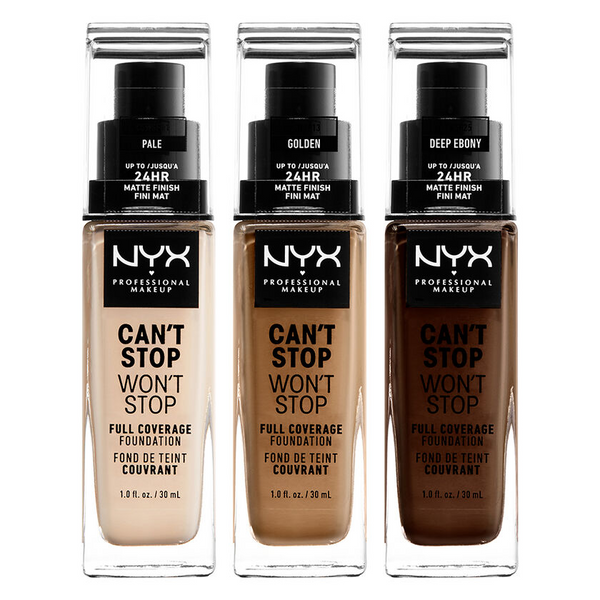 CAN'T STOP WON'T STOP FULL COVERAGE FOUNDATION (45 Colors)