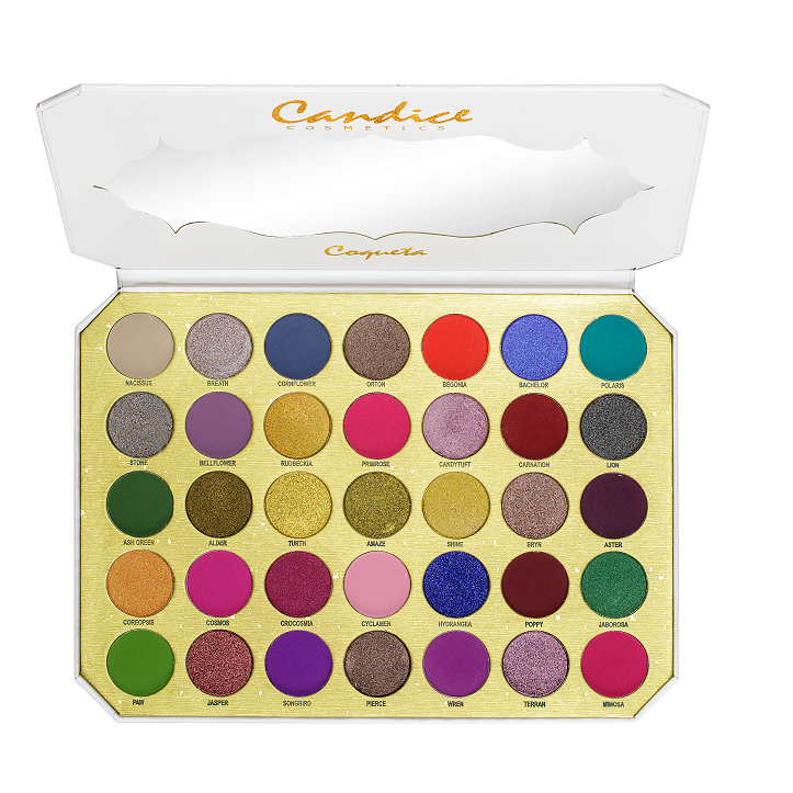 Be Coqueta - PRO 35 Colors Eyeshadow Palette