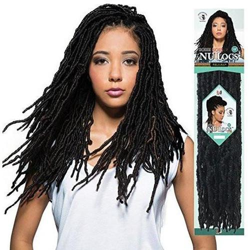 BOBBI BOSS AFRICAN ROOTS BRAID COLLECTION CROCHET NU LOCS 18""