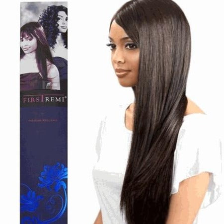 "BOBBI BOSS FIRST REMI PRIME YAKY 100% HUMAN HAIR WEAVING 10"" - 18"""