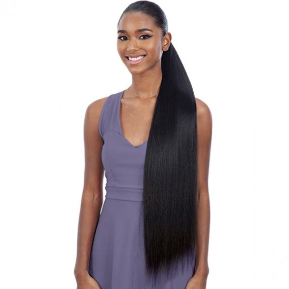 SHAKE-N-GO SYNTHETIC ORGANIQUE PONY PRO PONYTAIL - STRAIGHT YAKY 32""