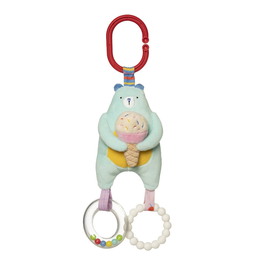 Cherry Blossom Bear Travel Toy-Manhattan Toy Company-Shop at Nook