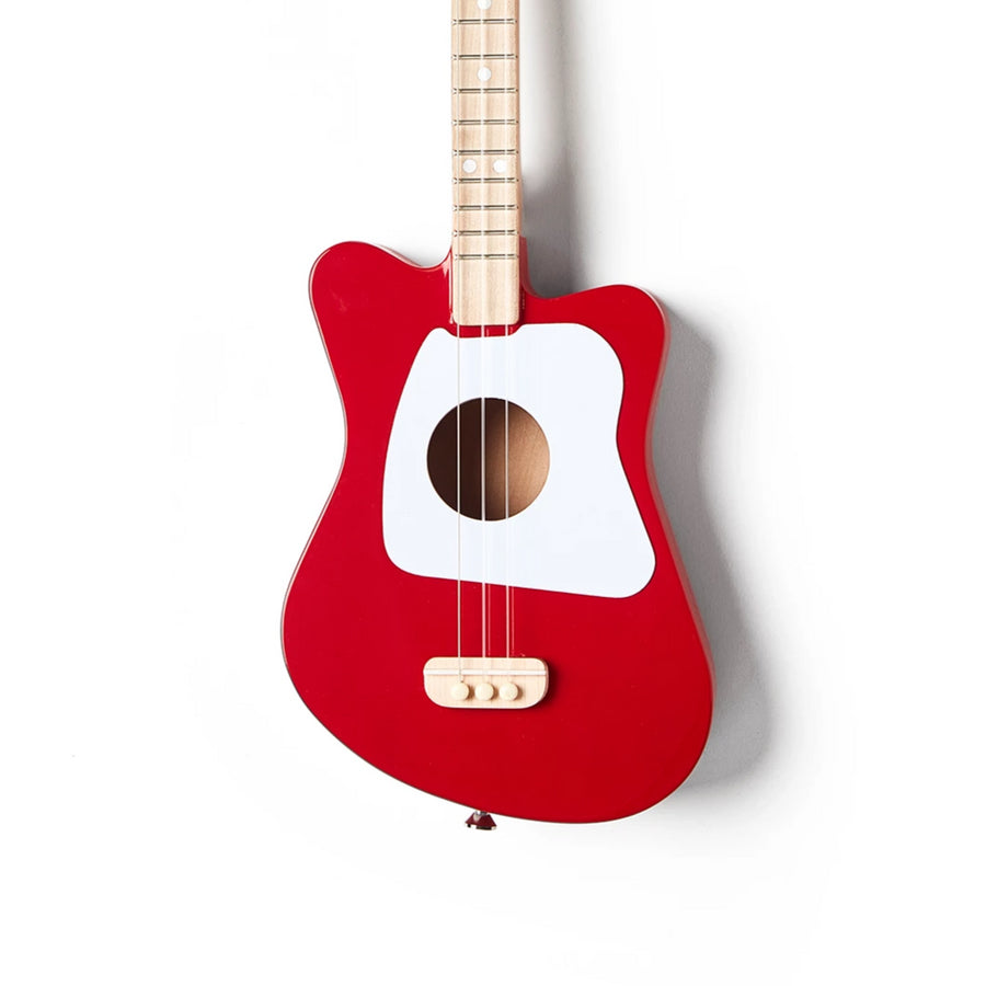 Loog Mini Guitar - Red-Loog Guitars-Shop at Nook