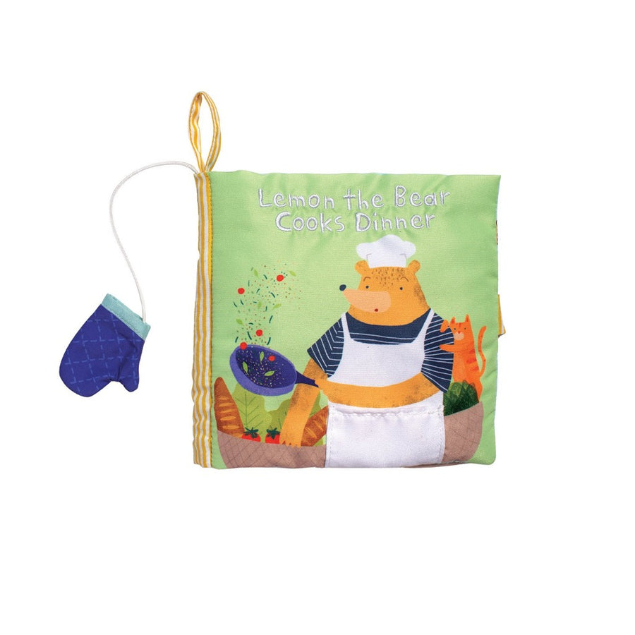 Lemon the Bear Cooks Dinner Book-Manhattan Toy Company-Shop at Nook