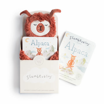 Alpaca Snuggler Bundle-Slumberkins-Shop at Nook