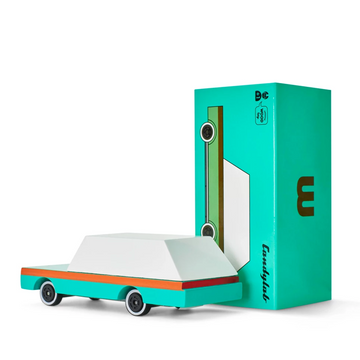 Candycar - Teal Wagon-Candylab Toys-Shop at Nook