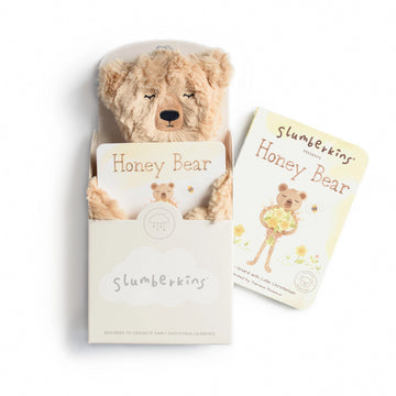 Honey Bear Snuggler Bundle-Slumberkins-Shop at Nook