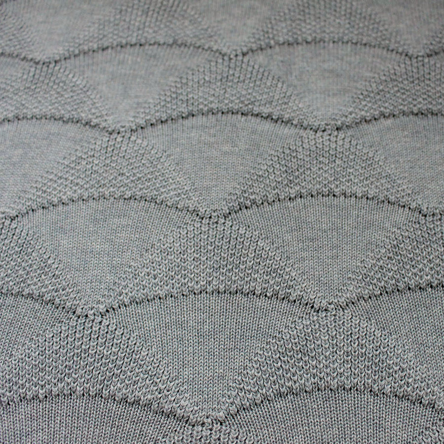 KITE Organic Knit Baby Blanket - Grey-koko's nest-Shop at Nook