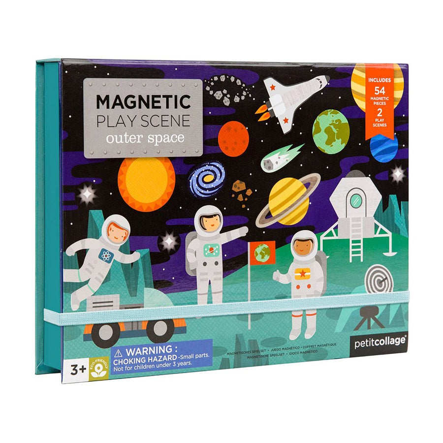 Outer Space Magnetic Play Scene-Petit Collage-Shop at Nook
