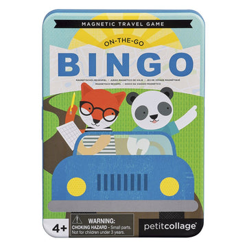 On-the-Go Bingo Magnetic Travel Game-Petit Collage-Shop at Nook