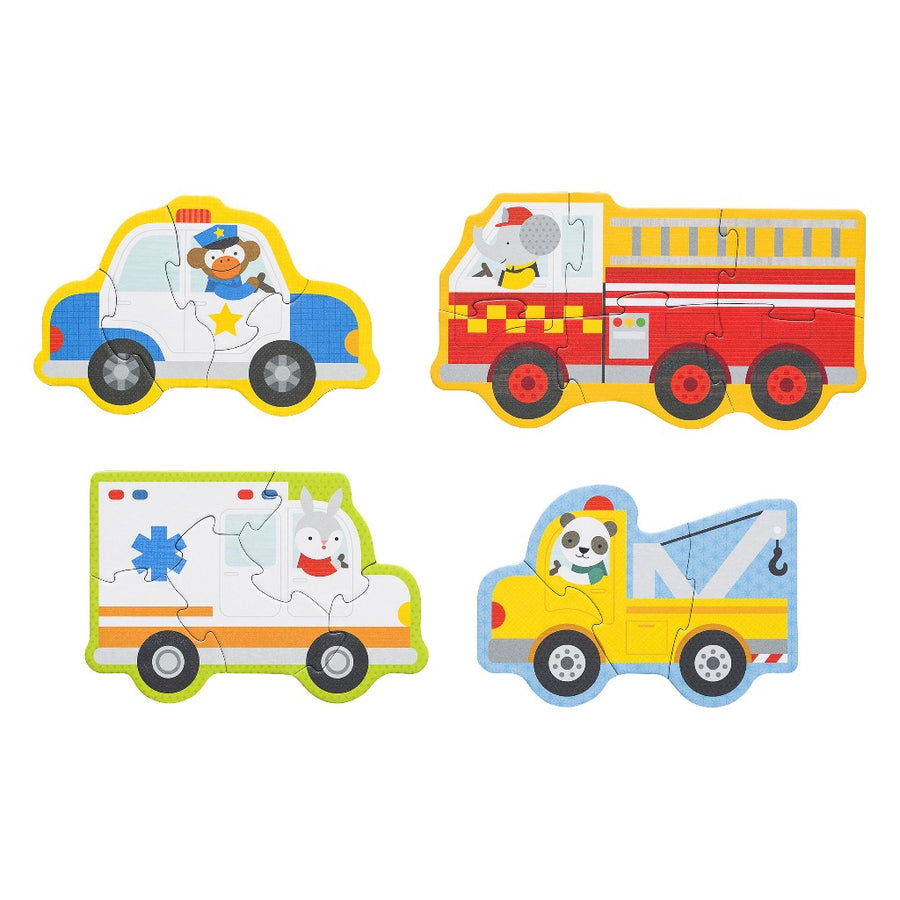 Rescue Vehicles Puzzle-Petit Collage-Shop at Nook