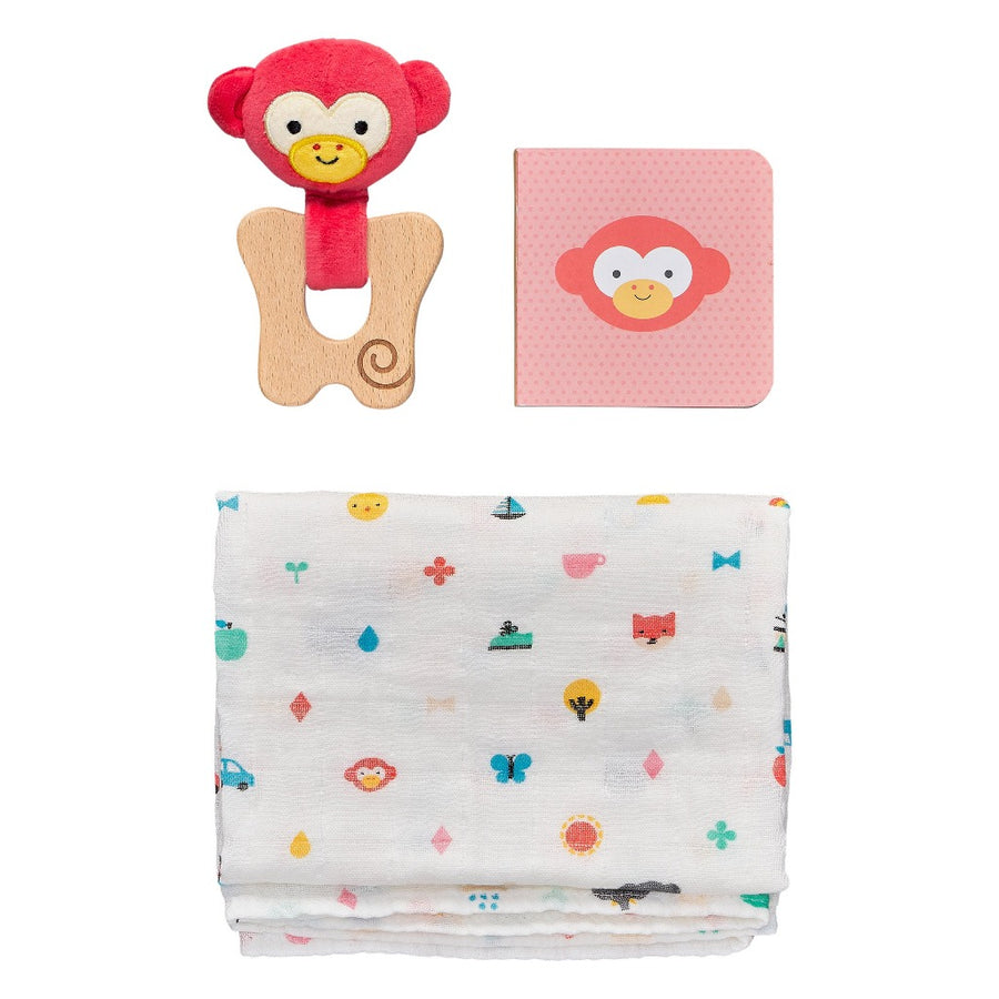 Little Monkey Gift Set-Petit Collage-Shop at Nook
