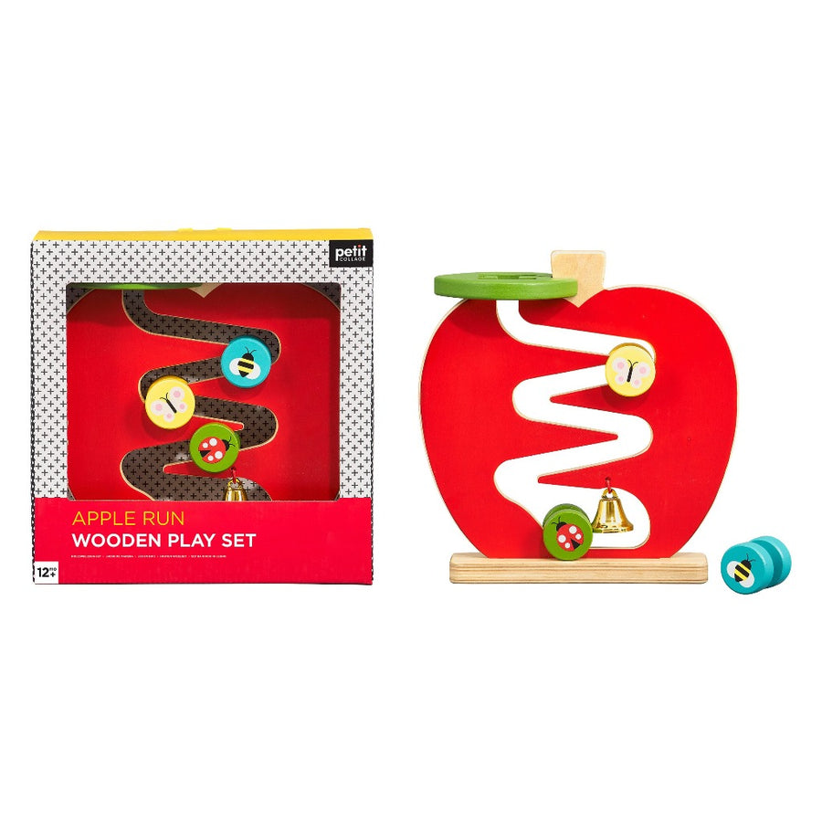 Apple Run Wooden Play Set-Petit Collage-Shop at Nook