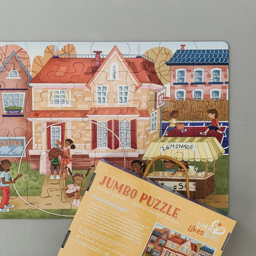 Jumbo Puzzle - Fun Outside, 48 pieces