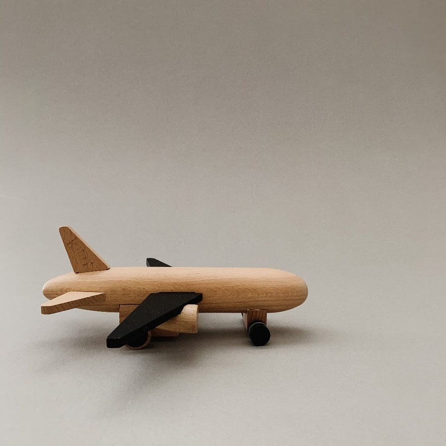 Hikoki Wooden Pull-Back Airplane Jet-kiko and gg-Shop at Nook