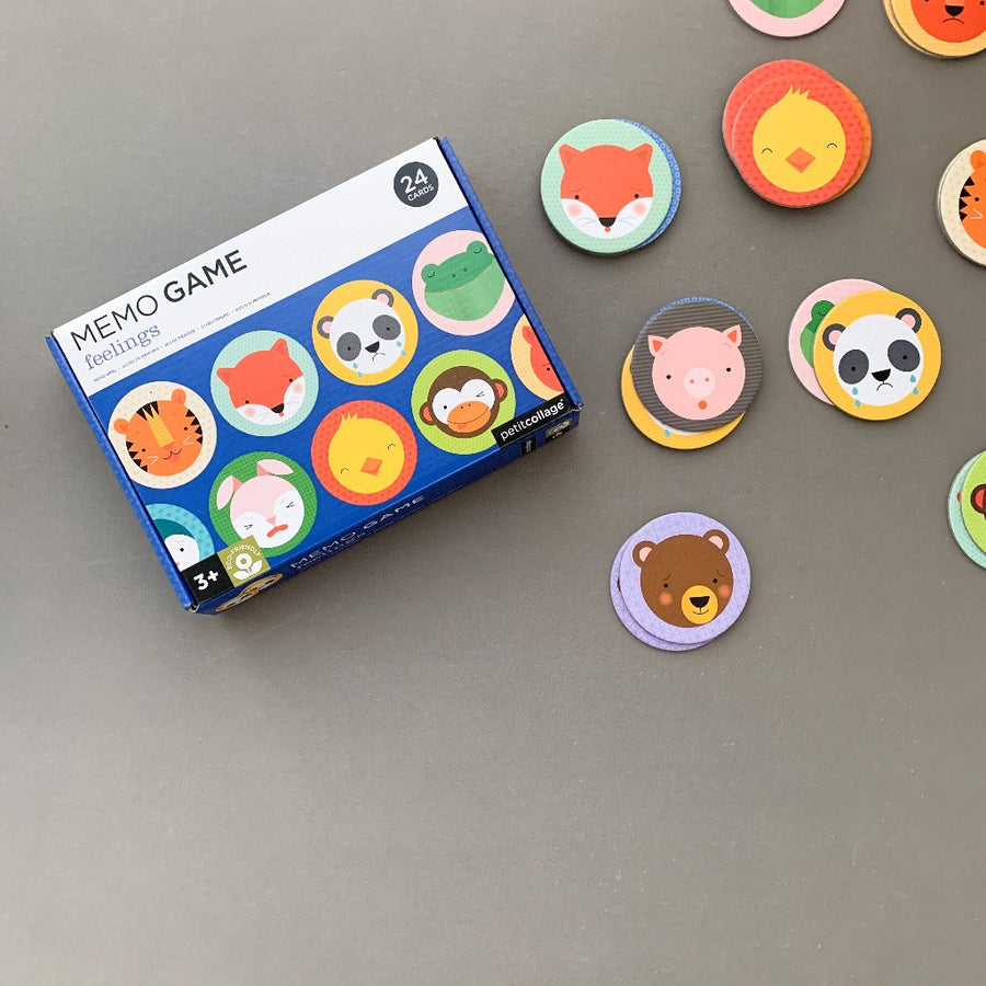 Feelings Memory Game-Petit Collage-Shop at Nook