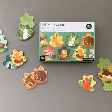 Forest Animals Memory Game-Petit Collage-Shop at Nook