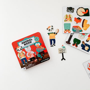 Magnetic Play Set - Animal Band-Petit Collage-Shop at Nook