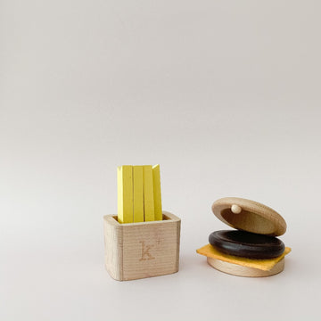 Hamburger Musical Play Set-kiko and gg-Shop at Nook