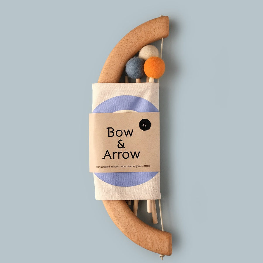 Bow & Arrow Set-toy-Tangerine Toys-Blue-Shop at Nook