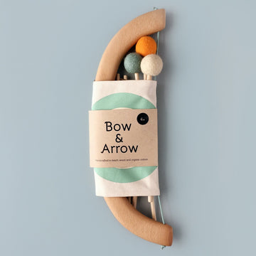 Bow & Arrow Set-toy-Tangerine Toys-Green-Shop at Nook