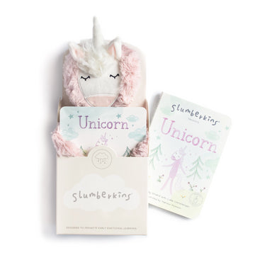 Unicorn Snuggler Bundle-Slumberkins-Shop at Nook