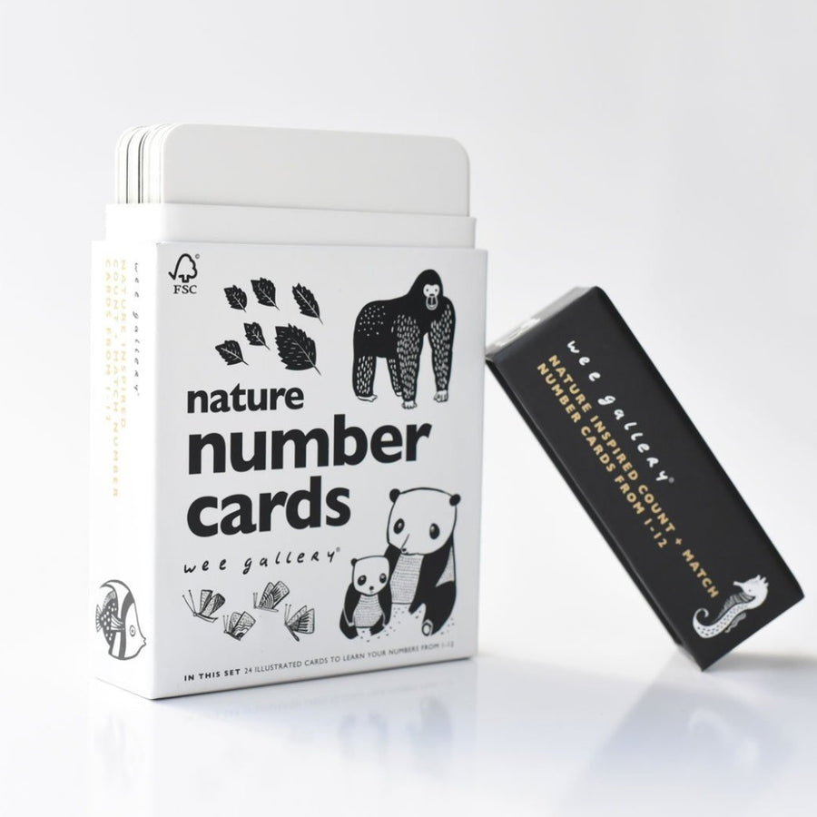 Nature Number Cards-Wee Gallery-Shop at Nook