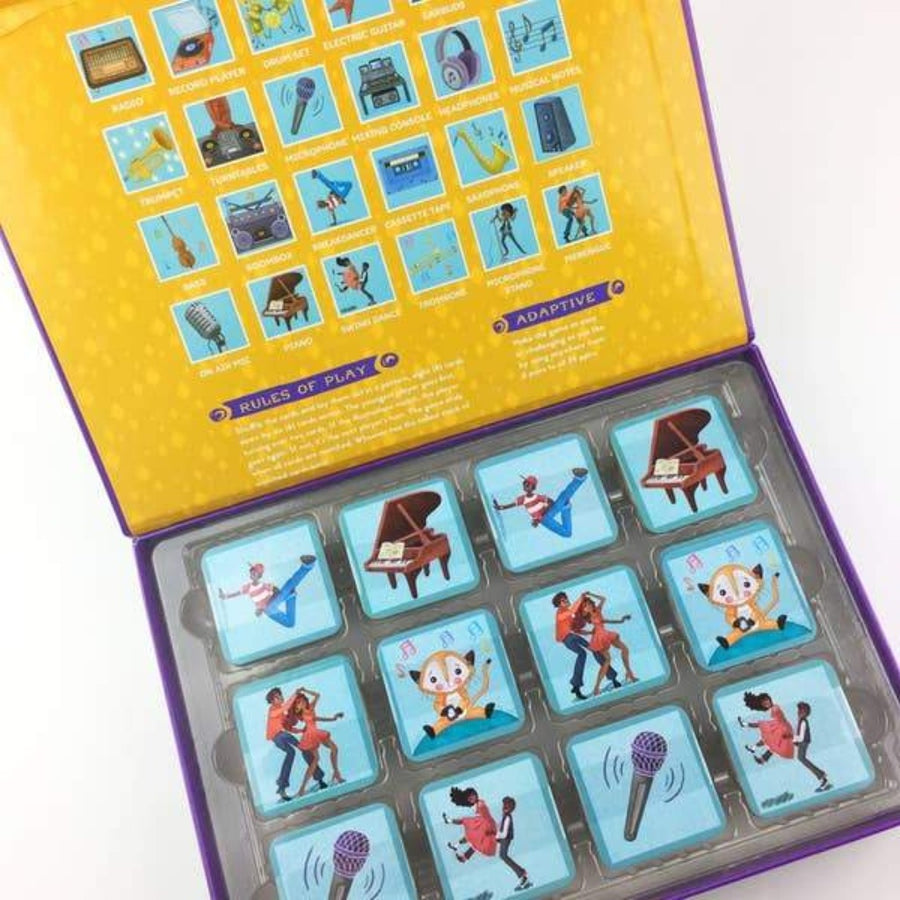Memory Game - Musical Crossroads