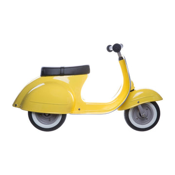 RENTAL Primo Ride-On Scooter - Yellow-Ambosstoys-Shop at Nook