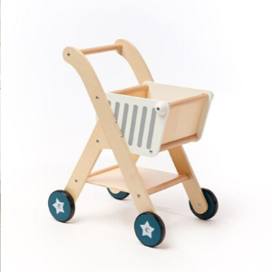 RENTAL Wooden Shopping Cart-Coco Village-Shop at Nook