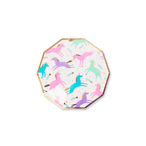 Magical Unicorn Small Plates - Pack of 8-Daydream Society-Shop at Nook