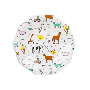 On The Farm Small Plates - Pack of 8-Daydream Society-Shop at Nook