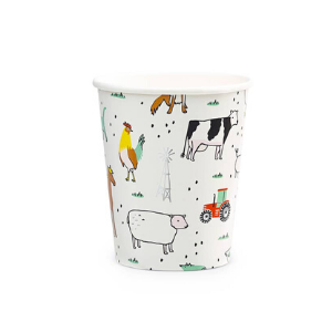 On The Farm Cups - Pack of 8-Daydream Society-Shop at Nook