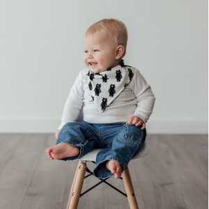 Reversible Bib-Luna Blu Mar-Shop at Nook