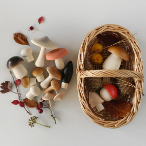 Forest Mushrooms Basket-Moon Picnic-Shop at Nook