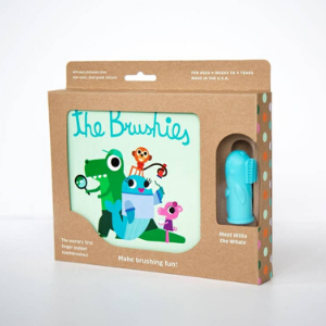 Brushie and Book-The Brushies-Shop at Nook