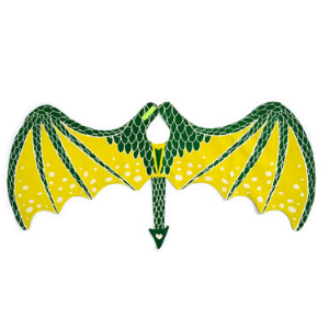 Green Dragon Wings-Lovelane Designs-Shop at Nook
