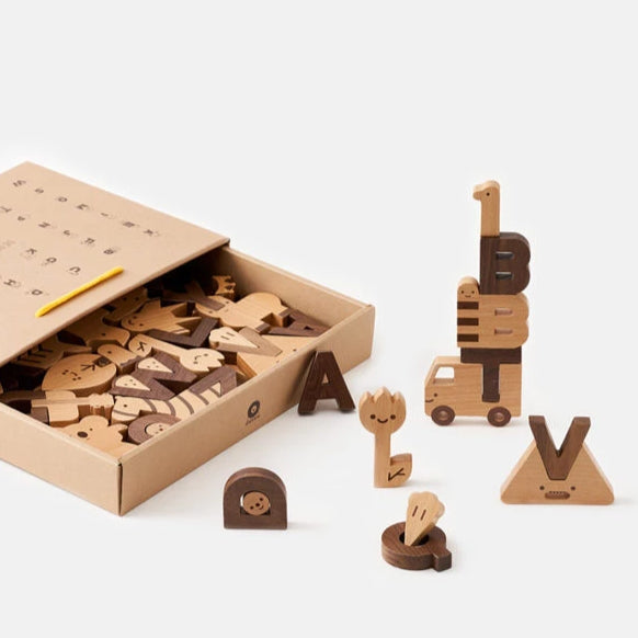 Alphabet Play Blocks-Oioiooi-Shop at Nook