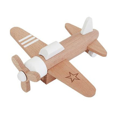 Hikoki Wooden Pull Back Propeller Plane-kiko and gg-Shop at Nook