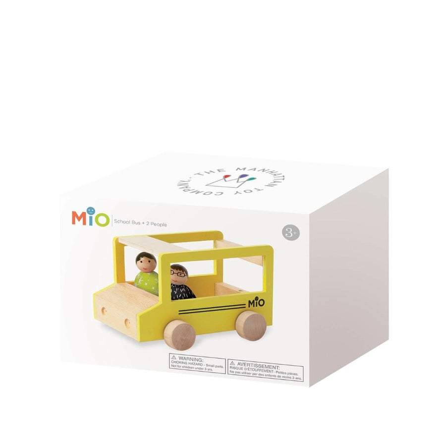 MiO School Bus + 2 People-Manhattan Toy Company-Shop at Nook