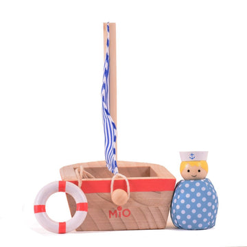 MiO Sail Boat + Sailor-Manhattan Toy Company-Shop at Nook