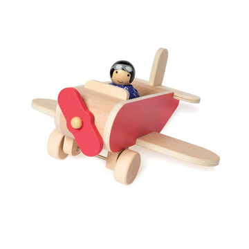 MiO Airplane + Pilot-Manhattan Toy Company-Shop at Nook