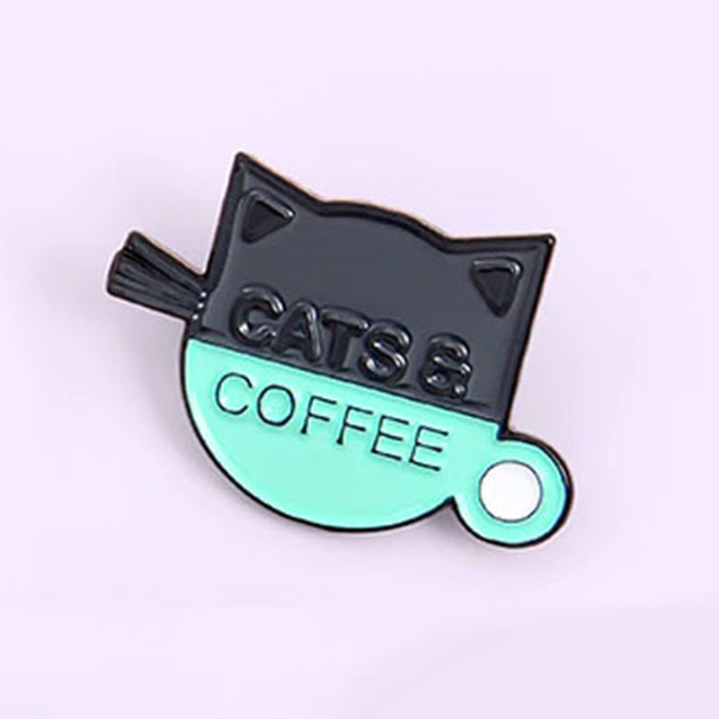 Cats And Coffee Cup