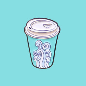 Coffee Cup Waves