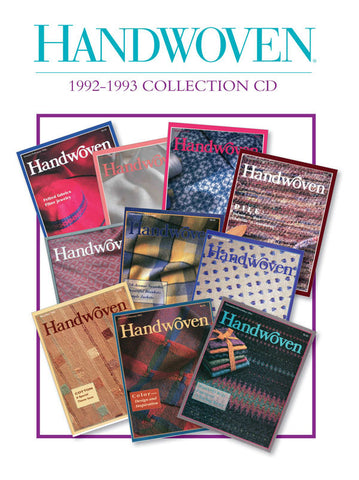 Handwoven 1992-1993 Collection DownloadImage