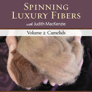 Spinning Luxury Fibers Volume 2: Camelids Video DownloadImage