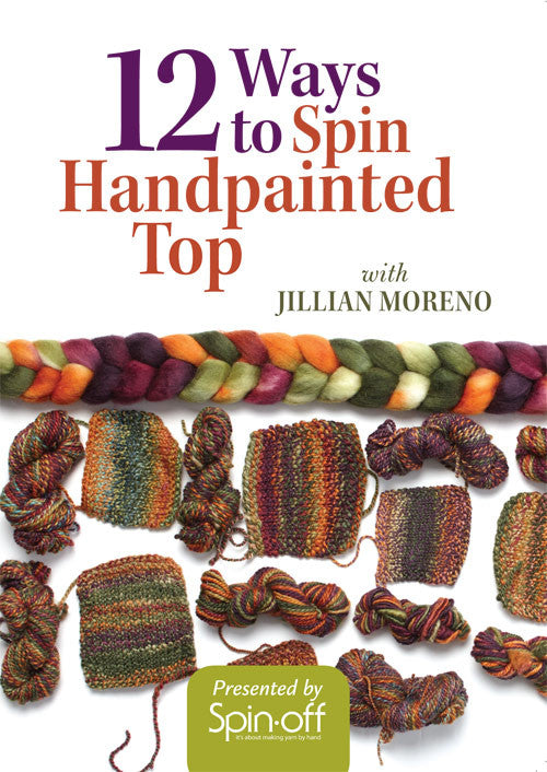 12 Ways to Spin Handpainted Top Video DownloadImage