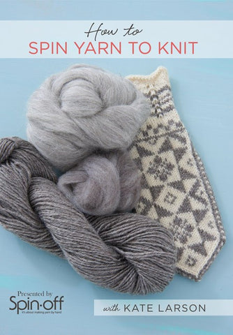 How to Spin Yarn to Knit with Kate Larson Video DownloadImage