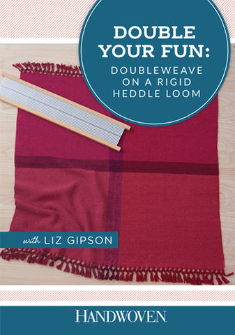 Double Your Fun: Doubleweave on a Rigid Heddle Loom Video DownloadImage